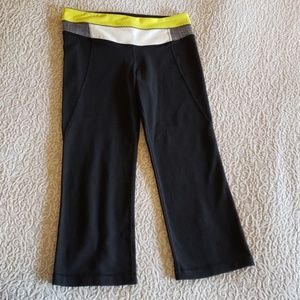 Lululemon Crop Capri Pants